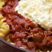 Lasagna Bowl