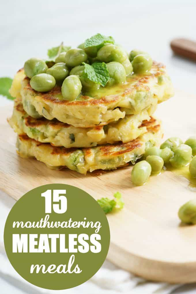 15 Mouthwatering Meatless Meals - Perfect for Meatless Monday!