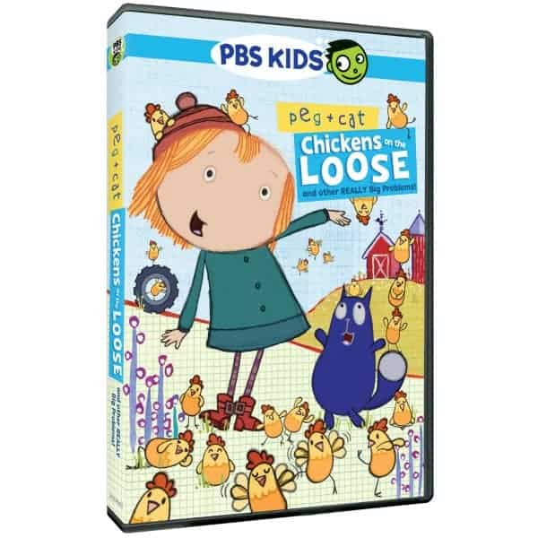 Peg + Cat: Chickens on the Loose and Other Really Big Problems DVD
