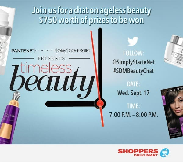 Join the #SDMBeautyChat Twitter Party on 9/17!