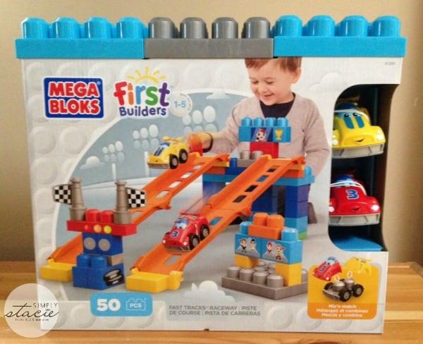 Mega Bloks Fast Track Raceway