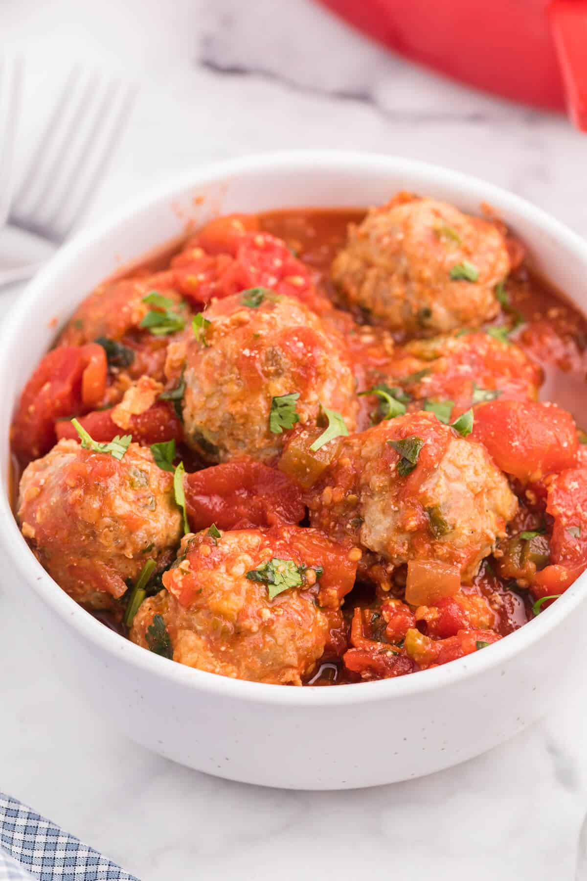 Mexican Meatballs - A fun new spin on the traditional meatball. Serve as an appetizer or add them to a pasta dish!