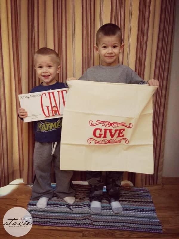 A Bag Named GIVE