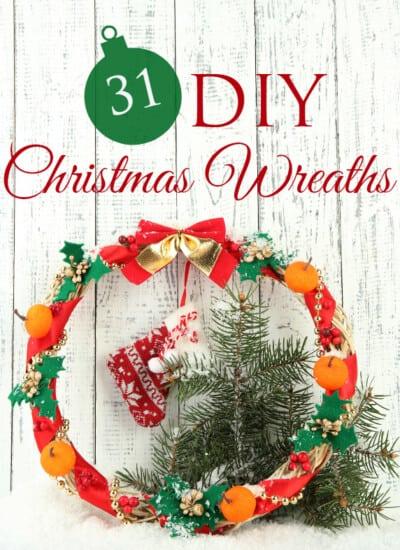 31 DIY Christmas Wreaths