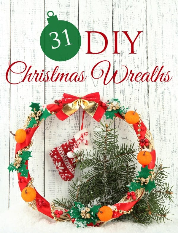 31 DIY Christmas Wreaths