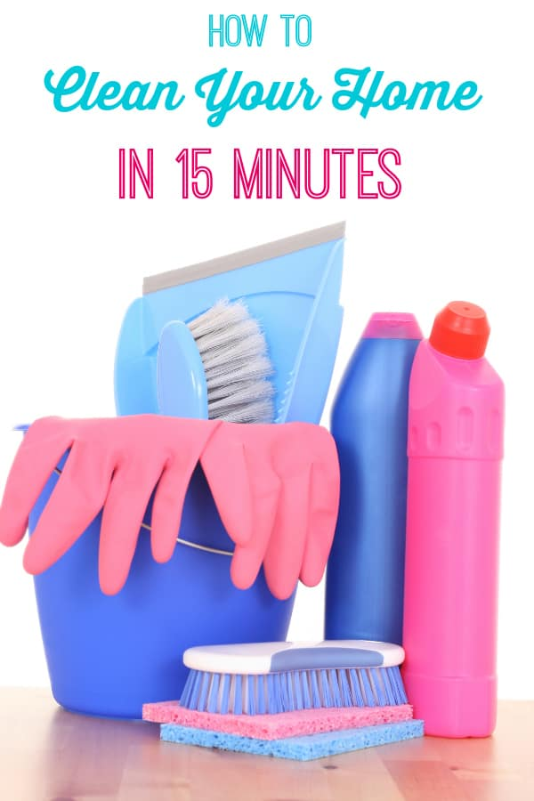 How to clean your home in 15 minutes - How to clean your home in 15 minutes - these 8 easy tips will make it look you spent an entire day cleaning!