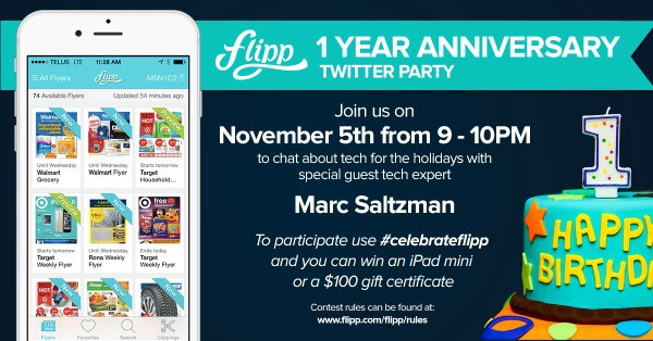 Celebrate Flipp's First Birthday #celebrateflipp