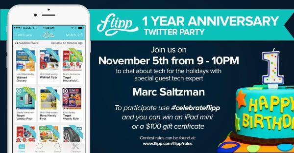 Celebrate Flipp's First Birthday #celebrateflipp