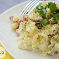 Slow Cooker Ham & Potato Hash