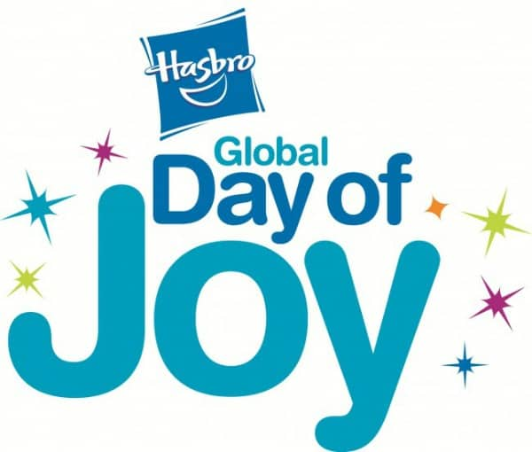 Join the #HasbroDayofJoy Twitter Party on 12/4 at 8pm EST!