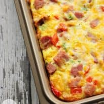 Hashbrown Quiche - Frozen hash browns, cheese, diced ham and green onions make a flavourful combination that are welcomed morning, noon and night.