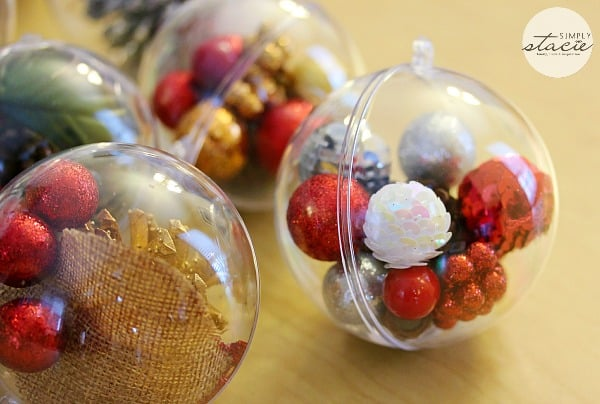 Super Easy Homemade Christmas Ornaments