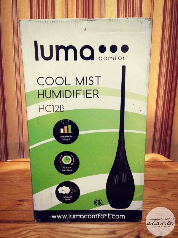 Luma Comfort HC12B Humidifier Review