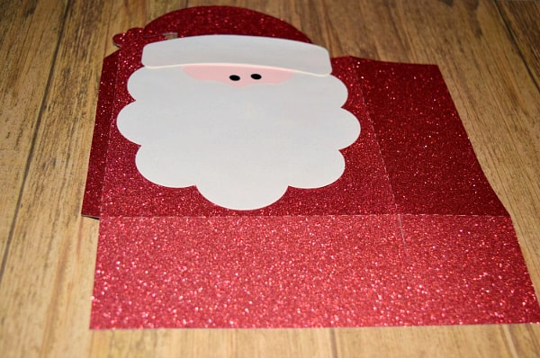Santa Gift Bag Silhouette Tutorial