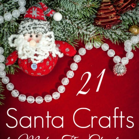 21 Santa Crafts to Make This Christmas
