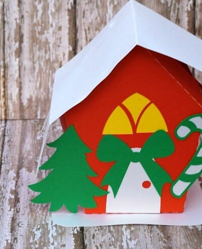 Christmas Candy Box Silhouette Tutorial