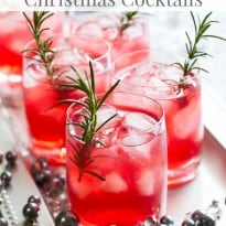 25 Festive Christmas Cocktails