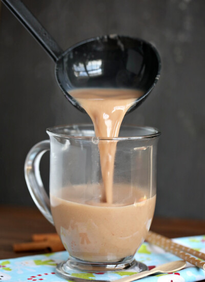 Gingerbread Latte - skip a trip to the coffee shop and make your own decadence in a mug right in your slow cooker!