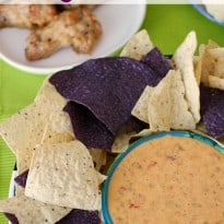 Chicken Queso Dip