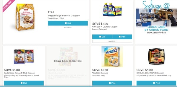 10 Sites to Find Coupons Online in Canada - Coupons are an important part of my money saving strategy on groceries!