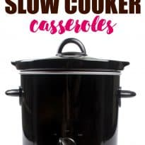 A collection of 15 satisfying slow cooker casseroles to comfort your soul. You can make anything in a slow cooker!
