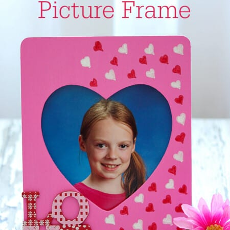 Valentine's Day Picture Frame