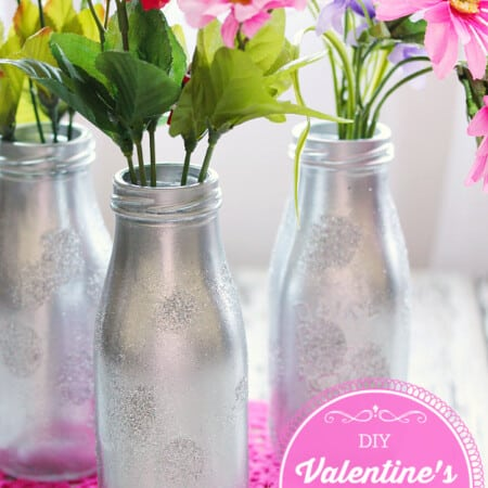 DIY Valentine's Day Vase
