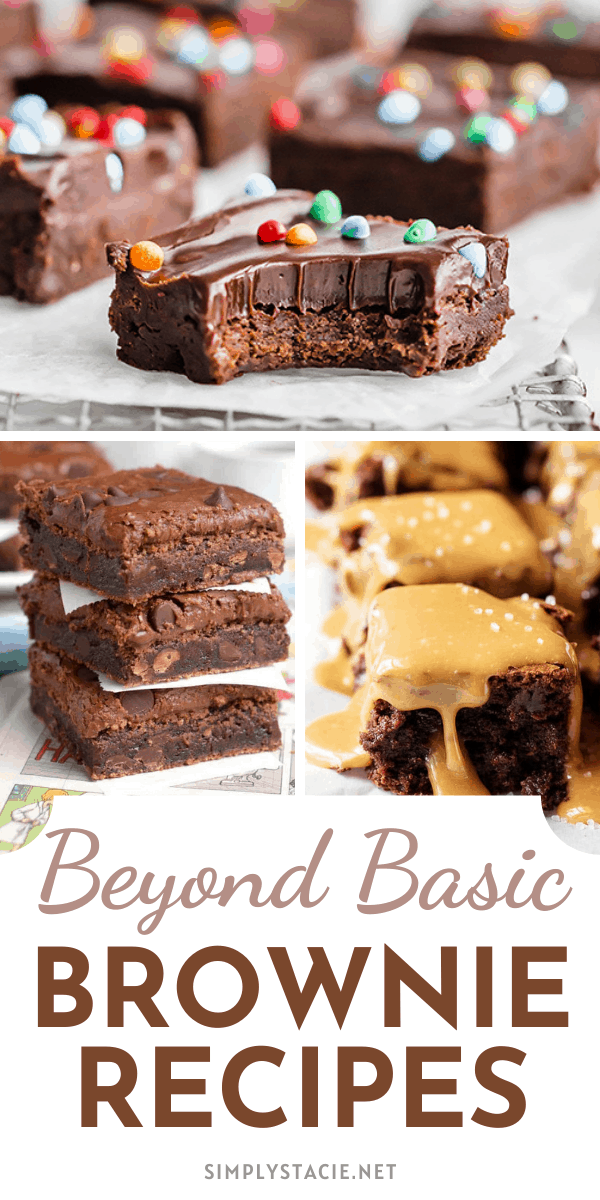 Beyond Basic Brownie Recipes - Scroll through my Beyond Basic Brownie Recipes collection. You'll find discover a whole other side of brownies that you may not have ever knew existed!