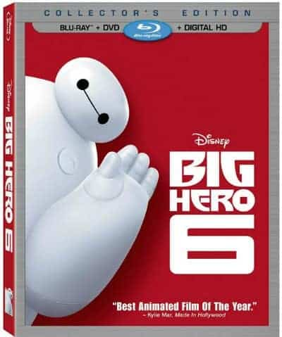 Big Hero 6 on Blu-ray + DVD