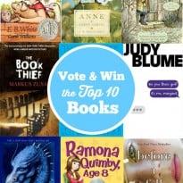 book collage vote