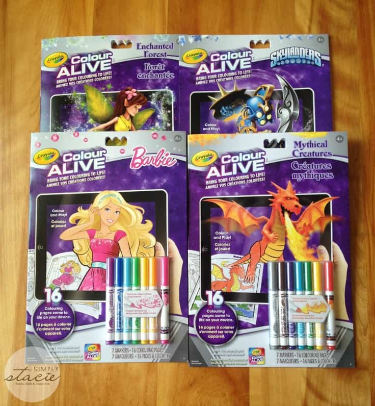 Crayola Virtual Products for Spring