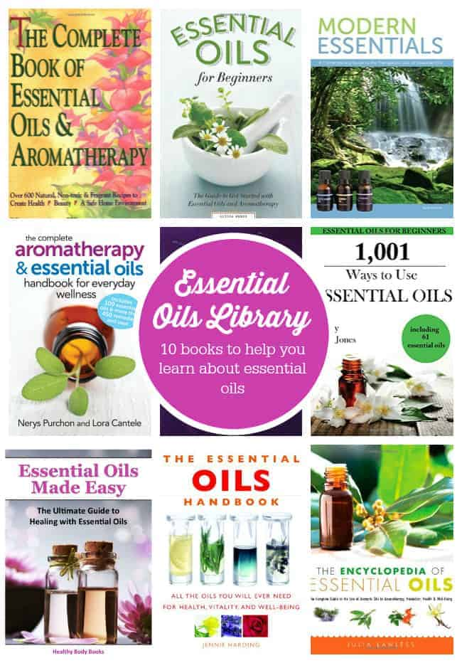 10 Books to Help You Learn About Essential Oils - New to essential oils? Check out these 10 books to help you learn about essentials and become a pro in no time!