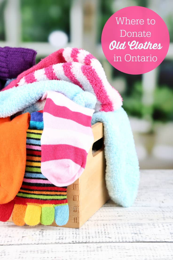 Where to Donate Old Clothes in Ontario