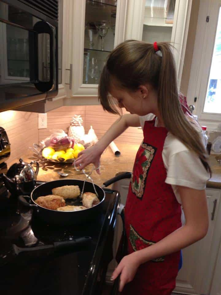 olivia cooking