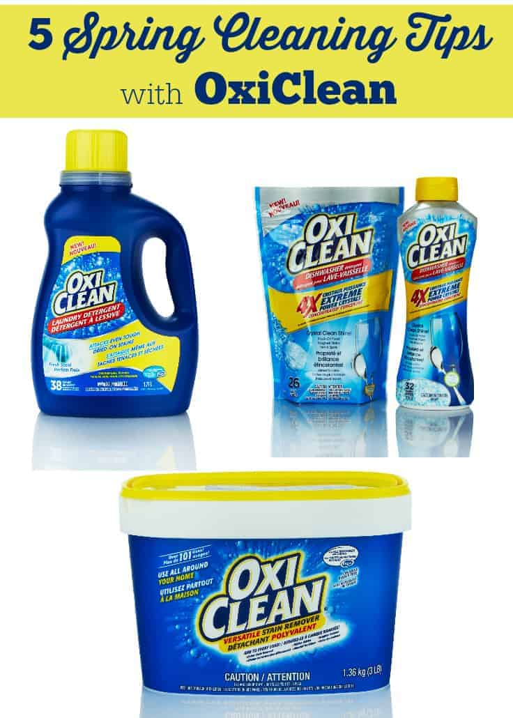 5 Spring Cleaning Tips With Oxiclean Simply Stacie