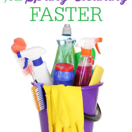 How to Finish Your Spring Cleaning Faster