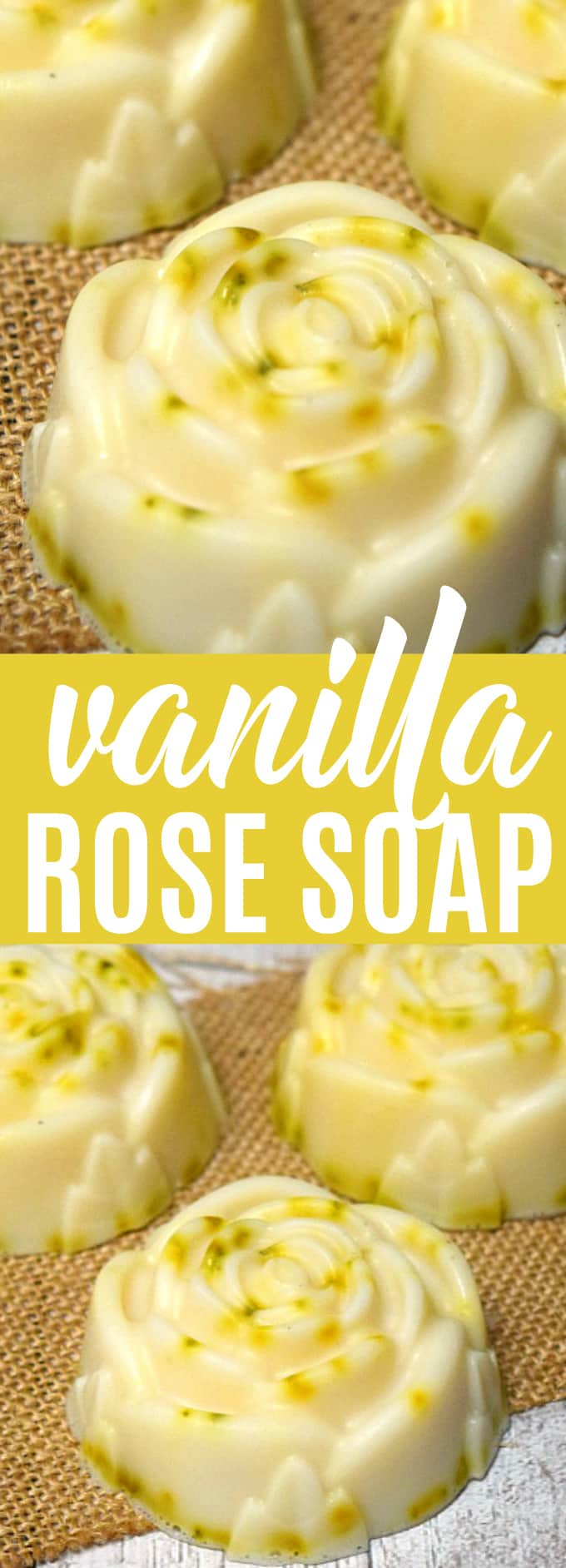 DIY Zesty Vanilla Rose Soap With A Great Smell