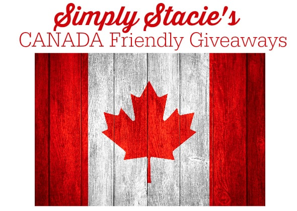canada friendly giveaway newsletter header