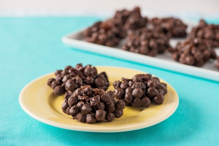 No Bake Choco Chimps™ Cookie Clusters