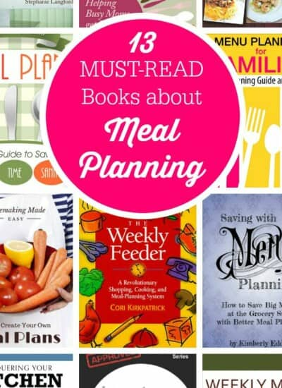 13 Must-Read Books about Meal Planning