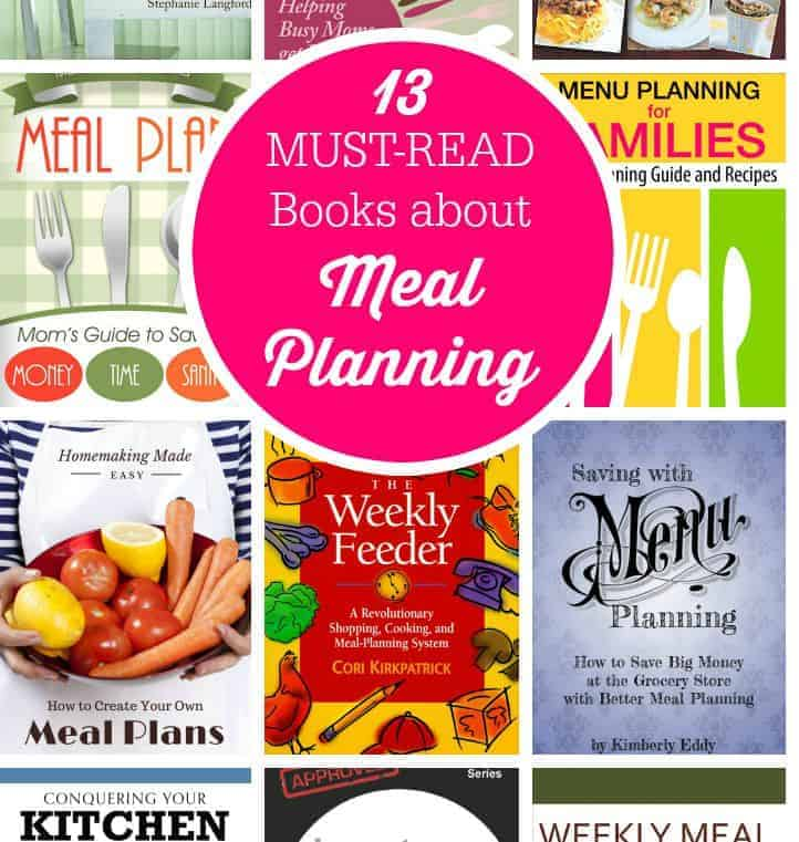 13 Must-Read Books about Meal Planning - Simply Stacie