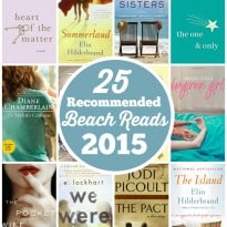 25 Recommended Beach Reads for 2015