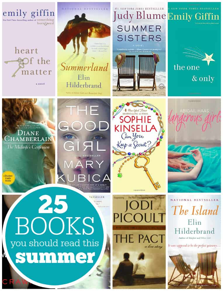 25 Books You Should Read This Summer