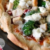 Sweet Chili Chicken Thai Pizza