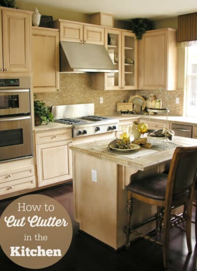 How to Cut Clutter in the Kitchen