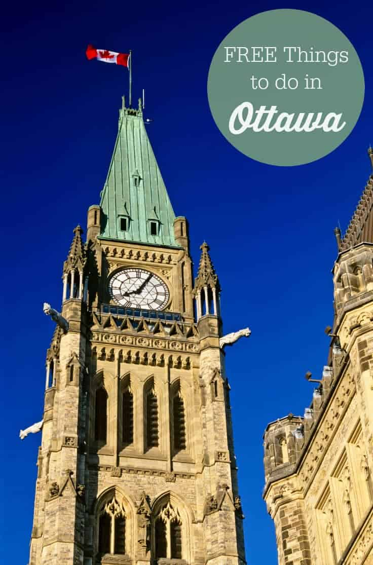 Free Things to do in Ottawa - plenty of must-see attractions available year round for family fun!