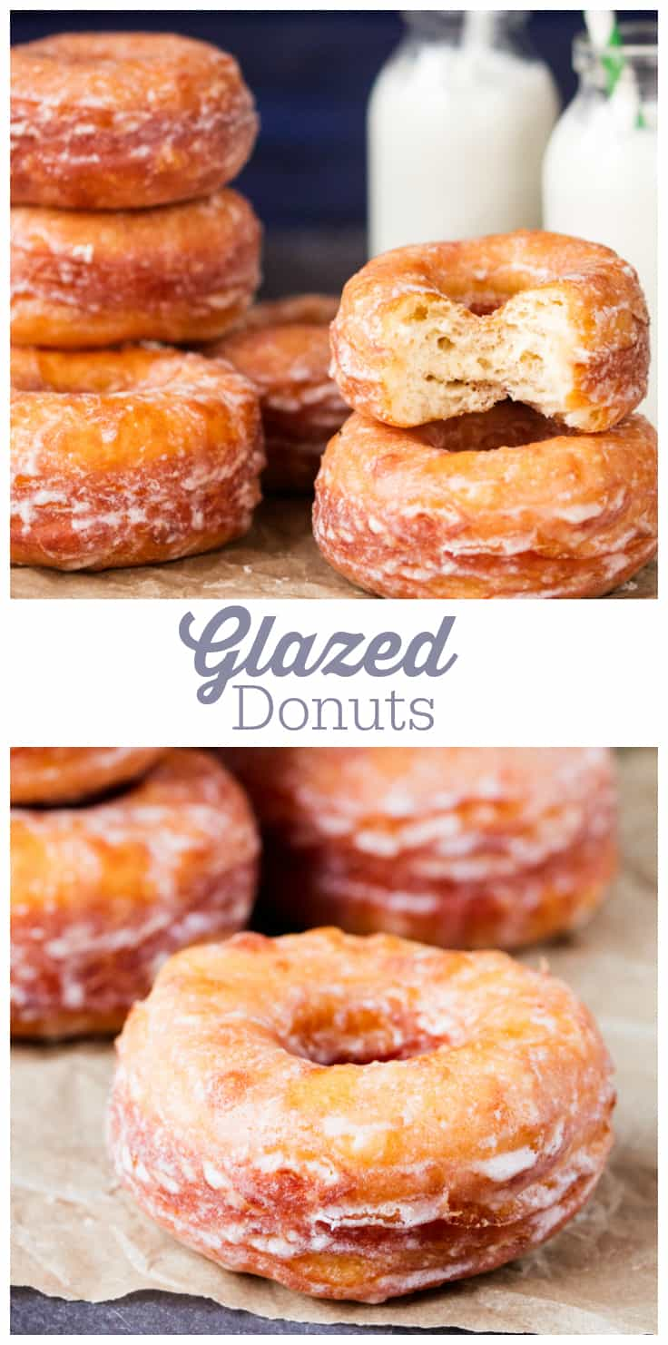 Glazed Donuts - Soft and light, with a glaze that crinkles and melts into your mouth as you take a bite, you'll find it hard to stop at one.