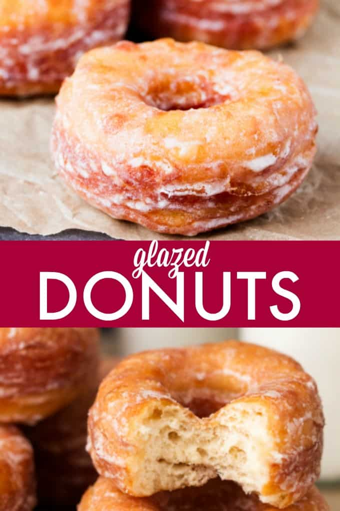 Glazed Donuts - Each bite is pure heaven!