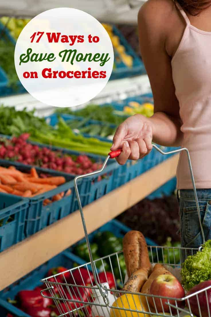 17 Ways to Save Money on Groceries - use these tips to make a big dent on your home grocery bill!