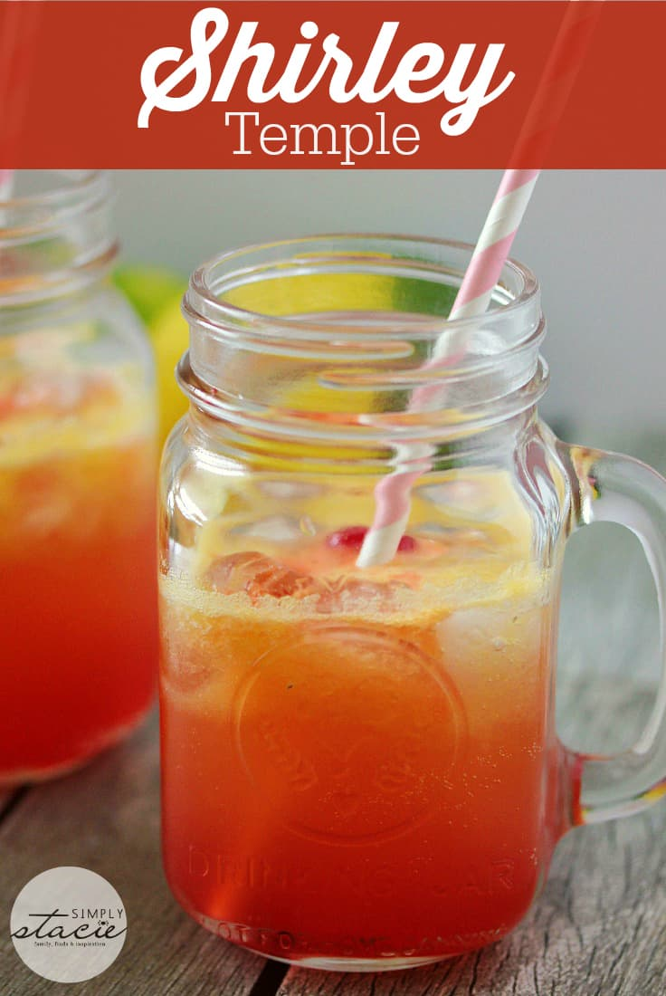 Shirley Temple - bring back memories of childhood with this refreshing virgin drink!